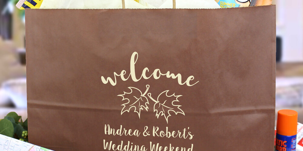 10 Things to Ensure You Have In Your Welcome Wedding Bags